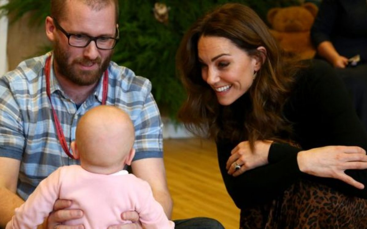 Kate launches childhood survey to help under-fives